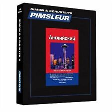 PIMSLEUR English for Russian Speakers Level  1 CDs ESL