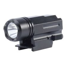 QR Tactical Led Flashlight Cree for Glock 17 19 20 21 22 23 with 20mm Weaver