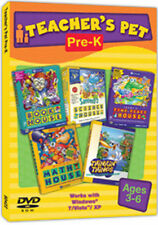 Teacher's Pet Pre-K  NEW DVD XP-Win 7  Thinkin' Things Millie Bailey Trudy Sammy