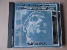 ADMIT YOU'RE SHIT someplace special CD  anarcho punk hardcore crass subhumans