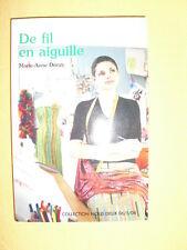 MARIE-ANNE DONZY De Fil En Aiguille Roman Collection Nous Deux N°182