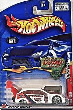 Hot Wheels 063 Ford Focus, 2002 Tuners 1/4, Race & Win Mint