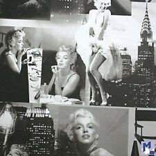 Marilyn Monroe Movie Scenes Icon Wallpaper Black and White 12101209