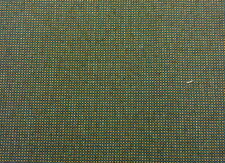 HEAVY DUTY UPHOLSTERY TWEED FABRIC TEAL, TAN  & BROWN  NYLON COMMERCIAL GRADE