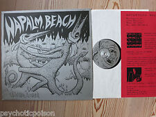 NAPALM BEACH - Liquid Love  LP  Satyricon Rec.  INCLUDES INSERT  *  Mit Beiblatt