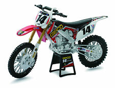Honda CRF450R 1:12 Geico Powersports 2012 Kevin Windham #14 die-cast bike model
