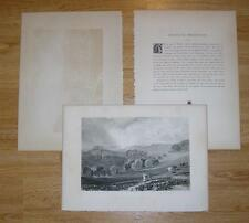 ANTIQUE HILL TOPIARY TREE COW VILLAGE SUSSEX MEADOW BRIGHTLING OBSERVATORY PRINT
