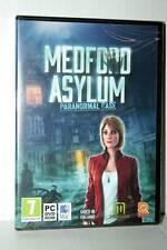 MEDFORD ASYLUM PARANORMAL CASE GIOCO NUOVO PC DVD VERSIONE ITALIANA AL1 41847