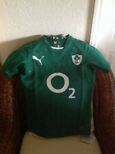 Rugby puma IRFU home replica shirt power green/white ireland jersey size S Men'