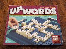 Upwords Milton Bradley Word Game 1997 COMPLETE crossword 3D Scrabble Banagrams