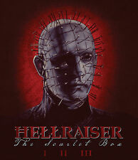 HELLRAISER New Sealed Ltd Ed 2016 SCARLET BOX 4 BLU RAY & MORE BOXSET