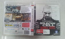 Tom clancy's splinter cell double agent ps3