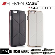 ELEMENT CASE Soft-Tec Rugged Wallet Cover Case for iPhone 6 PLUS/ 6s PLUS WHITE