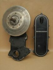 Vintage Skidoo Snowmobile Bombardier Drive Chain Case, Clutch, Gear 080021004