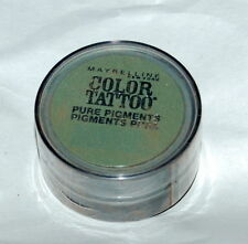 MAYBELLINE - #50 FOREST FATALE - COLOR TATTOO PURE PIGMENTS EYE SHADOW