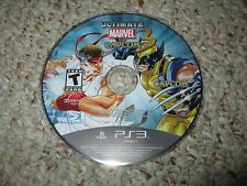 Ultimate Marvel vs. Capcom 3 (Sony PlayStation 3, 2011) Disk Only ps3