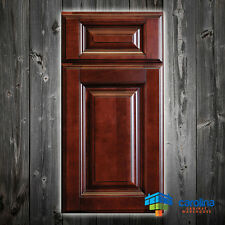 All Solid Wood RTA Cabinet Sample Door, Wood Kitchen Cabinets Color: Dark Cherry