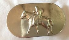 Horse Rider Belt Buckle American Vintage Classic Retro Country Western