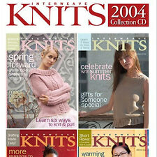 4 Issues on CD: INTERWEAVE KNITS MAGAZINE 2004 Complete
