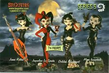 PROMO POSTCARD - BEGOTHS - SERIES 5 - FIGURES - FASHION DOLLS - POSTCARD ONLY