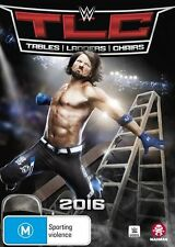 WWE: Tables, Ladders & Chairs 2016 - Sport NEW R4 DVD