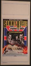Locandina SAMMY & ROSIE VANNO A LETTO 1°ED.ITAL.1988 SHASHI KAPOOR, CLAIRE BLOOM