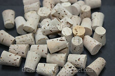 10off 13.5mm - 17.5mm Cork Stoppers Bungs Corks Fishing Float  Pack of 10 (ref5)