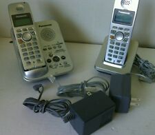 Panasonic Telephones Cordless Phones with 2 Handsets Batteries KX-TG 3031 CS Tel