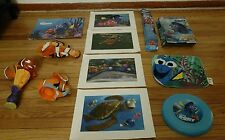 Lot Finding Dory Nemo Toys Plush Frisbee Kite Lithographs Disney On ICE Mug Doll