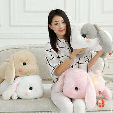 "18.89"" Stuffed Holland Lop bunny Flying rabbit Plush Doll Toys Christmas Gift"