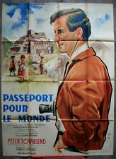 PASSEPORT POUR LE MONDE Affiche Cinéma ORIGINALE / French Movie Poster STOLOFF