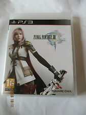 Final Fantasy XIII Playstation 3 PS3 COMPLET DE SA NOTICE