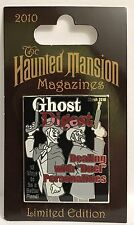 Disney - Haunted Mansion Magazines - Ghost Digest Duellers LE 2500 Pin
