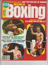 WORLD BOXING MAGAZINE SUGAR RAY LEONARD-GERRY COONEY-HOWARD DAVIS Jr MAY 1979