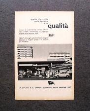 [GCG] M596 - Advertising Pubblicità - 1960 - SUPERCORTEMAGGIORE AGIP