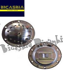 8033 - CLACSON CLAXON CROMATO 6V A CROCE VESPA 125 GTR TS ET3