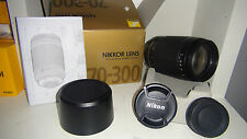 Winter Sale BRAND NEW Nikon AF Zoom-NIKKOR 70-300mm f/4-5.6G Lens w/ Hood