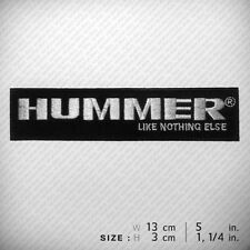 HUMMER EMBROIDERED PATCH IRON ON, Clothes Decorate, Trucks SUVs Humvee Motors