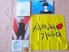 Super Junior Yesung Photobook Goods Set w/Gift Suju Handkerchief VCD