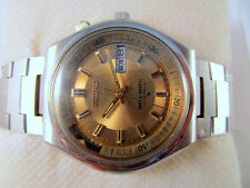 Vintage SEIKO BELLMATIC 17J Alarm Automatic D&D Original Dial Japan Made Watch