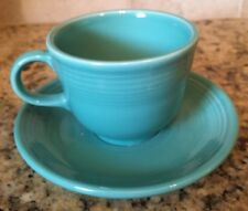 NEW Fiesta Turquoise Cup and Saucer