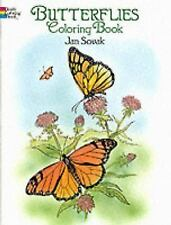 Dover Publications-Butterflies Coloring Book (Dover Nature Coloring Book) by Jan