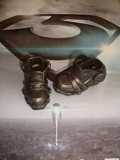 HOT TOYS 1/6 MAN OF STEEL GENERAL ZOD boots w/pegs  -- US SELLER --