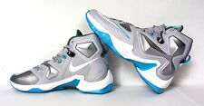 NEW NIKE AIR MAX LEBRON XIII 13 Gray Blue Basketball Shoes 807219-014 SZ 13