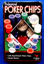 Play Cardinal's Texas Holdem Poker Chips Set , Used in excelent shape.