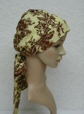 Chemo bonnet, head snood, surgical cap, chemo hat, chemo head wear, bad hair day