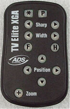 ADS TV ELITE XGA TV CONVERTER REMOTE ++FREE SHIP++