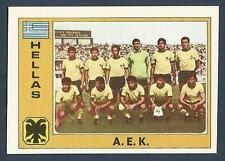 PANINI EURO 77 #112-GREECE-A.E.K.TEAM PHOTO