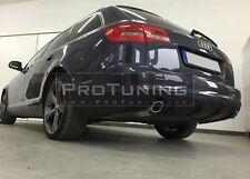 Audi A6 C6 4F 08-11 Rear Bumper Spoiler Diffuser RS6 twin exhaust diffuzer addon