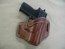 "Springfield XD Mod2, XDM, XD 3""-3.8"" OWB Leather 2 Slot Pancake Belt Holster TAN"